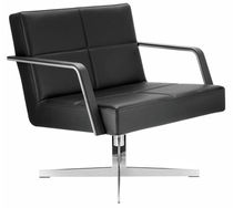 commercial swivel armchair GRATO by Wolfgang C.R. Mezger brunner