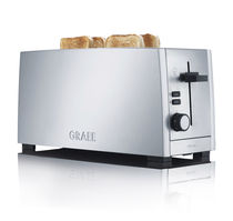 commercial toaster TO 100 Graef