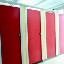 commercial toilet partition SANICAB SANITEC - PAREO