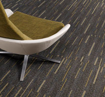 commercial tufted and cut-loop pile synthetic carpet tile (Green Label Plus-certified, low VOC emissions) PLACES AND SPACES : MAST  MODULAR Lees