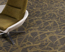 commercial tufted and cut-loop pile synthetic carpet tile (Green Label Plus-certified, low VOC emissions) PLACES AND SPACES : PARKWAY MODULAR Lees