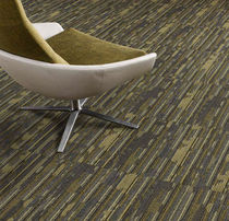 commercial tufted and cut-loop pile synthetic carpet tile (Green Label Plus-certified, low VOC emissions) PLACES AND SPACES : GLAZE MODULAR Lees