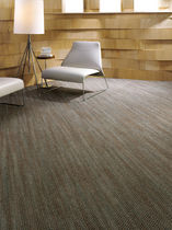 commercial tufted and loop pile synthetic carpet (Green Label Plus-certified, low VOC emissions) WHAT MOVES YOU VOL.II : LOOP IN TIME Lees