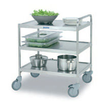commercial utility trolley SET-75/3  Hackman