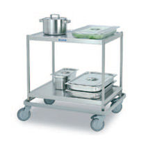 commercial utility trolley SET-75WH/2  Hackman