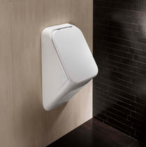 commercial wall-hung urinal with cover FUSION HATRIA
