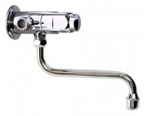 commercial wall-mounted self-closing single handle mixer tap 9088 RUBINETTERIE MCM