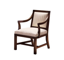 commercial wood chair with armrests 181 HARDEN
