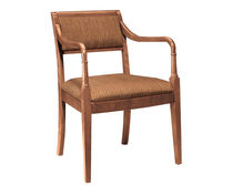 commercial wood chair with armrests RATHBURN HARDEN