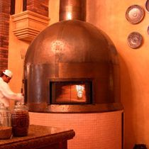 commercial wood pizza oven RND SIDE WINDOW Beech Ovens