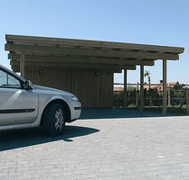 commercial wooden carport A.2 Collstrop
