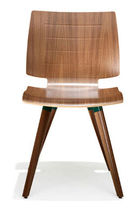 commercial wooden chair 2180 UNI_VERSO Kusch & Co
