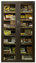 commercial cigar display case  caveduke