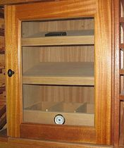 commercial cigar display case  Kessick Wine Cellars