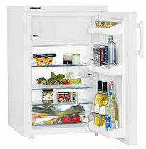 compact energy efficient refrigerator (EU Energy label) KTP 1444 LIEBHERR