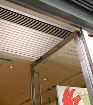 concealed air curtain for suspended ceiling OPTIMA RECESSED JS Air Curtains