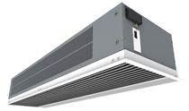 concealed air curtain for suspended ceiling RECESSED OPTIMA airtecnics sl