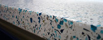 concrete counter-top (recycled material)  MELD