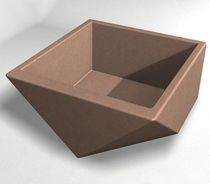concrete planter for public spaces WS-124 Wausau Select