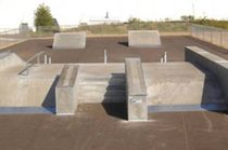 concrete skatepark ABOVE GROUND World Skate Parks