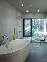 concrete wall tile: plain color EAST HAMPTON NY  Get Real Surfaces