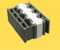 concrete wood block with integrated insulation RTH STANDARD Blocalians