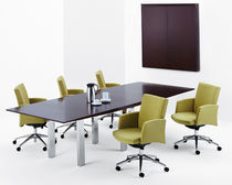 conference chair with casters INFUSION by Joe Ricchio Arcadia Contract