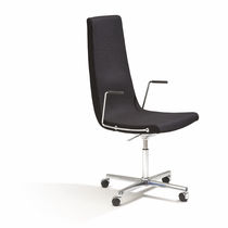 conference chair with casters CLINT by Tveit & Tornøe FORAFORM AS