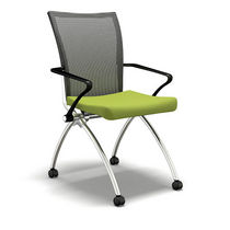 conference chair with casters VALOR&Eacute; SERIES: TSH1FBCEST MAYLINE