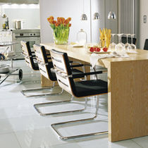 conference sled base chair S 60 by Glen Oliver L&ouml;w THONET