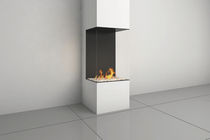 contemporary 3 sided fireplace (gas closed hearth) CLEAR 40HTS Ortal USA