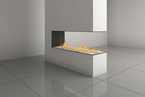 contemporary 3 sided fireplace (gas closed hearth) SPACE CREATOR 150 Ortal USA