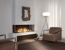 contemporary 3 sided fireplace (gas closed hearth) Trisore 140 Element4 B.V.