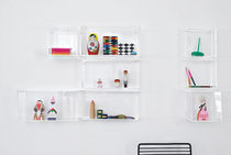 contemporary acrylic wall shelf DISPLAY ME BOX  Hay a/s