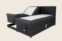 contemporary adjustable electric double bed EDDA II sensi-scandia.com