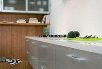 contemporary aluminium kitchen LAR/PESQUERA BLOCK