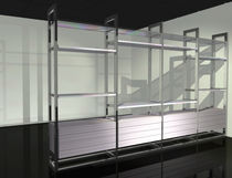 contemporary aluminium shelf VIDEO by KAPDesign KAP International