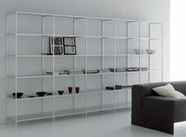 contemporary aluminium shelf MINIMA by B.Fattorini MDF Italia