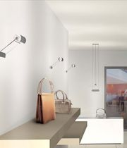contemporary aluminium wall light HALOS (C-W) by Quantic TRE CI LUCE