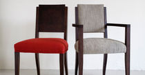 contemporary armchair in certified wood (FSC-certified) NORMANDIE-UPHOLSTERED by Terence Conran BENCHMARK