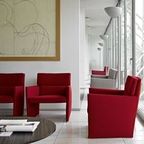 contemporary armchair POSA by David Chipperfield B&amp;B Italia