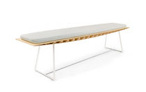 contemporary bamboo bench BEE TurriniBY