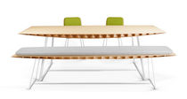 contemporary bamboo table BEE TurriniBY