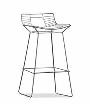 contemporary bar chair SUNRAY by Fabio Di Bartolomei TONON