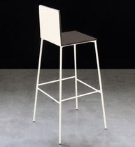 contemporary bar chair MANHATHAN by Maurizio Peregalli ZEUS