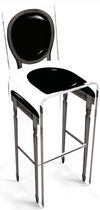 contemporary bar chair <b/> (plexiglas®) AQUA L 16 GLOSS AÏTALI