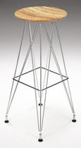 contemporary bar stool WEIGHTLESS  Haldane Martin