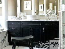 contemporary bathroom PLYMOUTH EBONY MAPLE AYA kitchens