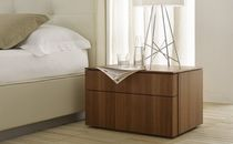 contemporary bed-side table CLOE Zanette