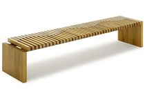 contemporary bench in reclaimed wood ONDA Rotsen Furniture